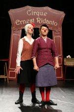 """les abattoirs """"Le fabuleux petit grand cirque Ernest Ridanto"""" Cie La Ridanto"""
